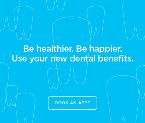 Be Heathier, Be Happier. Use your new dental benefits. - The Dental Office  on Red Hill